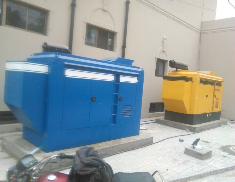 PERKINS 150KVA AND 100KVA DIESEL GENSET