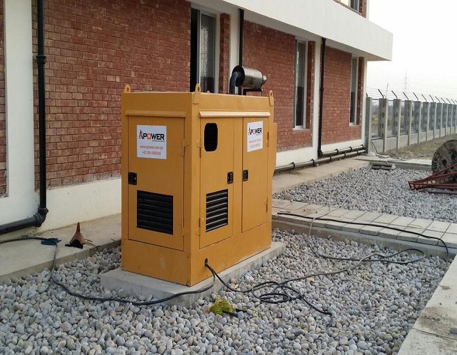100kva PERKINS Diesel Set at Solar Park, Bahawalpur